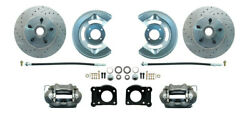 1964-73 Ford Mustang Front Disc Brake Conversion Kit Drum-disc 11 D/s Rotors