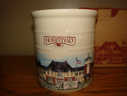 Longaberger 1999 Homestead Pottery 2 Quart Decorated Crock Retired Made In Usa