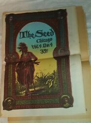 Chicago Seed Volume 4 Number 4 Spring 1969 Old Town Hippie Paper
