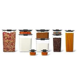 Rubbermaid Brilliance Pantry Organization And Food Storage Containers With