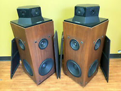 Dbx Soundfield 1a Sf-1a Omni-directional Vintage Speaker Pair