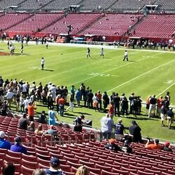 3 Tampa Bay Buccaneers Nfl Football Tickets Ny New York Giants 11/22 Lower Level