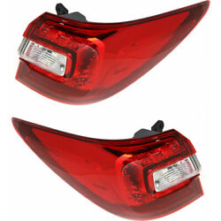 For Subaru Outback Tail Light Unit 2015-2019 Pair Rh And Lh Outer Capa Su2804106