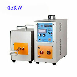 45kw 30-80khz High Frequency Induction Heater Furnace Melting Heating Machine