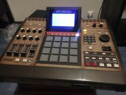 Akai Mpc5000 With Skin From A Limited Edition