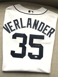 Justin Verlander Signed Autographed Detroit Tigers Mlb Authenticated Jersey