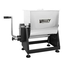 7 Gal. Stainless Steel Manual Meat Mixer With Tilt Positions - Valley Sportsman