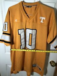 Colosseum Orange Athletic College Football Jersey Men's Xl 10 Tennessee Vols