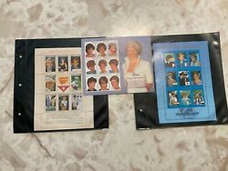 Princess Diana In Memoriam Stamp Collection, Set Of 3
