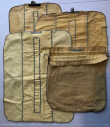 Lot 4 Vintage Marshall Fields Silverware Storage Bags Pouches