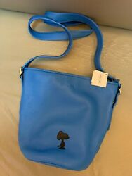 Coach X Snoopy Peanuts Leather Purse Bag Limited Edition New