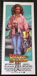 Back To The Future By Rockin' Jelly Bean Poster Screen Print Artist Proof Us