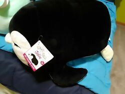 Squishmallow Justice Girls Kellytoy Violet The Penguin Jumbo Plush Pillow 20 In