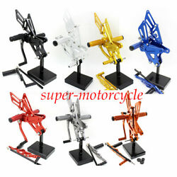For Yzf R1 2009-2014 Footrest Footpegs Rearset Gp Shiftandnbspcnc Pedals Motorcycle