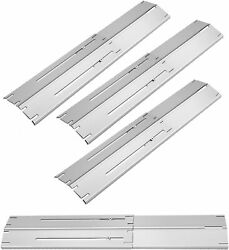 Grill Heat Plates Shield Burner Covers Bbq Gas Grill Replacement Parts, 3-packs