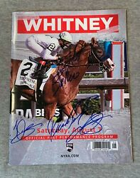 2021 Whitney Stakes Saratoga Official Race Day Program- Signed By All Jockey 1