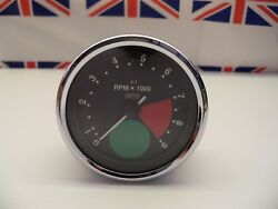 R30 - Genuine Smiths Large Green Spot Rev Counter/tacho Tachometer - Recondition