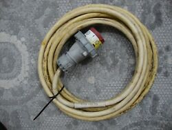 Hf Boat / Container Shore Power Electrical Cord450 Volt X 25and039 Awg 10/4 Wire