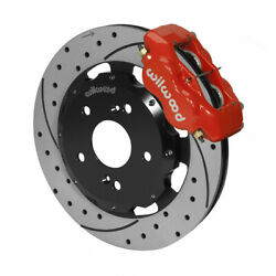 Wilwood For Acura Rsx 2002-2006 Brake Kit Forged Dynalite Front Hat 12.19in