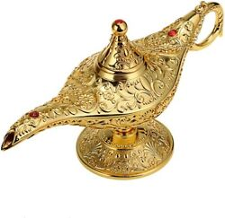 Vintage Magical Legend Aladdin's Genie Lamp For Home Decor Wedding Antique Gifts