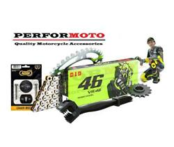 Did Vr46 Chain And Sprocket And P5 Kit To Fit Bmw F650 Gs / Dakar 99-06