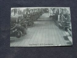 U.s.f. Constitution - 24 Pounder Long Gun - Post Card Andndash For Your Consideration