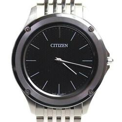 Citizen Ar5000-50e Used 8826-t022812 Eco-drive One Solar Mens Watch Auth Works