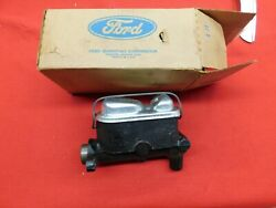 Nos 67 68 69 70 Ford Lincoln Mercury Pwr Disc Brake Master Cylinder C7vy-2140-a