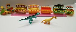 Dinosaur Train Toy Set + Figure Set. Lights Work Tv Show Learning Collect Rare