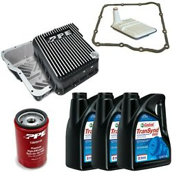 Acdelco Allison 1000 Transmission Kit And Ppe Brushed Deep Pan For 01-19 Gm Trucks