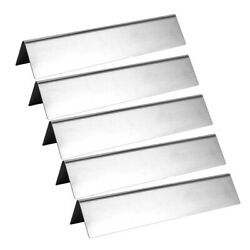 15 Universal Grill Replacement Parts 5pcs Gas Barbecue Grill Heat Plate