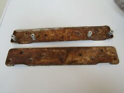 Set Of 2 Antique Vintage Cast Iron Farm House Wall Mounted Sink Brackets