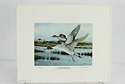 1990 Georgia Ducks Unlimited Sponsors Prints Numbered And Artist Info