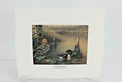 1991 Georgia Ducks Unlimited Sponsors Prints Numbered And Artist Info