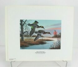 2000 Georgia Ducks Unlimited Sponsors Prints Numbered And Artist Info