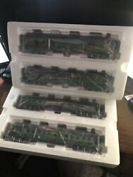 Mth Railking Southern 4-car 60and039 Madison Passenger Set With Nice Details