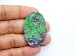 Natural Uvarovite Druzy Gemstone Cabochon Loose For Jewelry 108 Cts. Me-1989