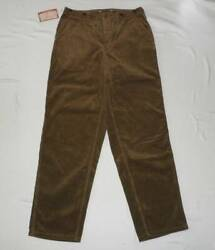 Freewheelers Walden Cotton Corduroy Trousers Pants Camel 34 X 34 New From Japan