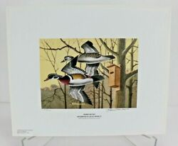 2003 Georgia Ducks Unlimited Sponsors Prints Numbered And Artist Info