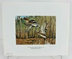 2004 Georgia Ducks Unlimited Sponsors Prints Numbered And Artist Info