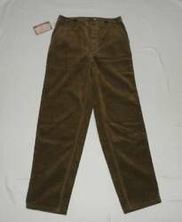 Freewheelers Walden Cotton Corduroy Trousers Pants Camel 30 X 32 New From Japan