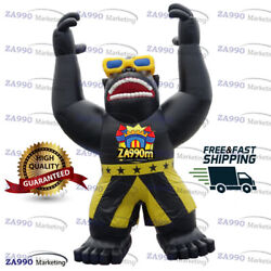 23ft Inflatable Giant Gorilla Cartoon Promotion Advertising With Air Blower