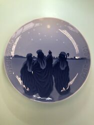 1901 Bing And Grondahl Three Wise Men 7 1/2 In Collectors Plate