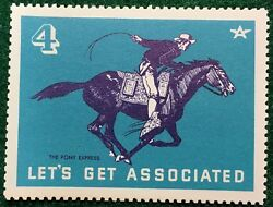 4 The Pony Express - Let's Get Associated - Flying A Gas And Oil Company