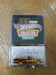 Hot Wheels Prototype Sample No Serial Number Batman Convention Gold Holy Grail