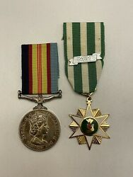 Australian Vietnam Service And Campaign Medals - Named - Pin/badge - Research