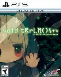 Void Terrarium++ Deluxe Edition For Ps5 Playstation 5 New Sealed