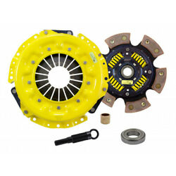 Act Clutch Kit For Nissan 300zx 1984 85 86 87 88 1989 Xt/race Sprung 6 Pad