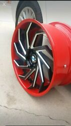 Wheels And Tires For Bmw 5 Series 2x 285/35/20 Rear And Front 255/35/18...