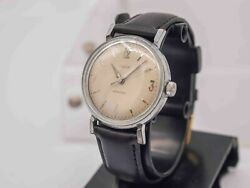 1959 - Timex Marlin Mens Hand Wind Wrist Watch Great Britain - Runs And Keeps Time